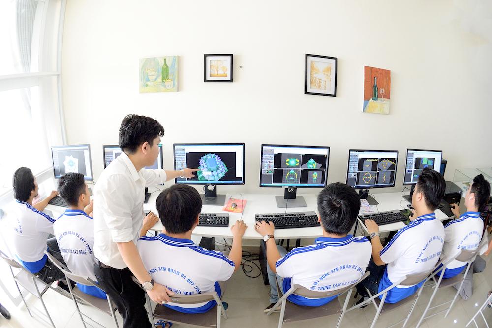 Ứng dụng công nghệ in 3D cho ngành nghề trang sức