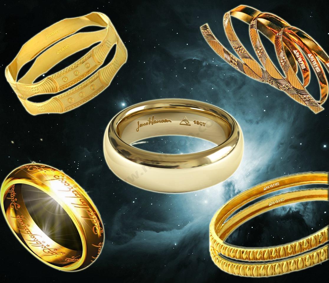Ký hiệu trên nhẫn vàng và ý nghĩa của chúng