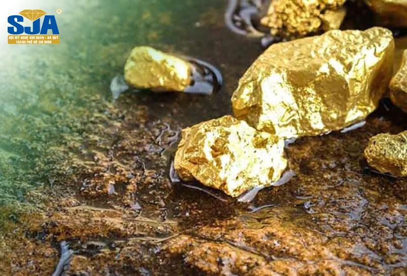Nguồn gốc của vàng